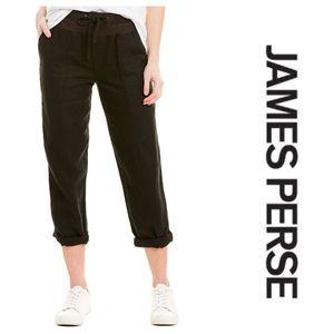 James Perse Linen Utility pants